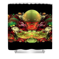 Bowl Of Fruit Shower Curtain by Bruce Nutting