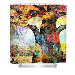 Branching Out Shower Curtain by Fania Simon