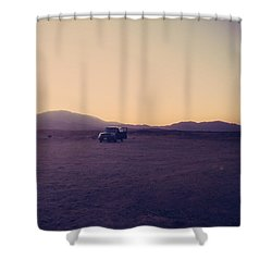 Breakdown Shower Curtain by Laurie Search