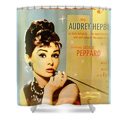 Breakfast At Tiffany Shower Curtain by The Creative Minds Art and Photography
