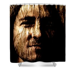 Breaking Point Shower Curtain by Christopher Gaston
