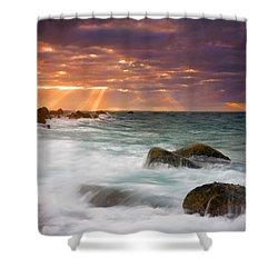Breathtaking Shower Curtain by Mike  Dawson