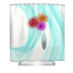Breeze Shower Curtain by Len YewHeng