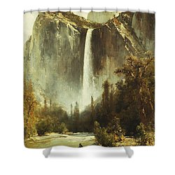 Bridal Falls Shower Curtain by Thomas Hill