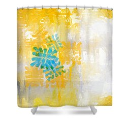 Bright Summer Shower Curtain by Lourry Legarde