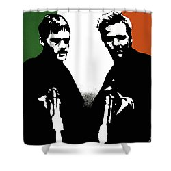 Brothers Killers And Saints Shower Curtain by Dale Loos Jr