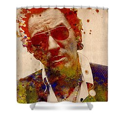 Bruce Springsteen Shower Curtain by Bekim Art