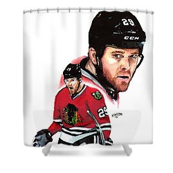 Bryan Bickell Shower Curtain by Jerry Tibstra