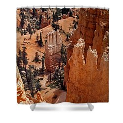 Bryce Canyon National Park 2 Shower Curtain by Thomas Woolworth