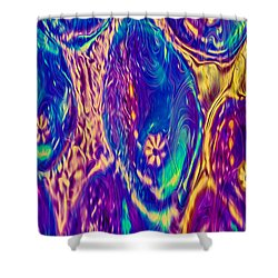 Bubbling Fantasies Shower Curtain by Omaste Witkowski
