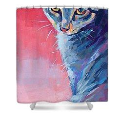 Bug Shower Curtain by Kimberly Santini