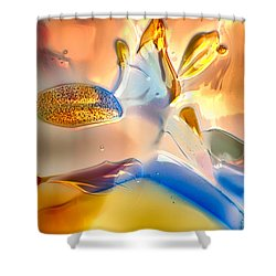 Bugs On Parade Shower Curtain by Omaste Witkowski