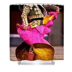 Bullfighter Dance Shower Curtain by Bruce Nutting