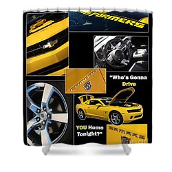 Bumble Bee-drive - Poster Shower Curtain by Gary Gingrich Galleries