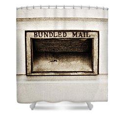 Bundled Mail Shower Curtain by Scott Pellegrin