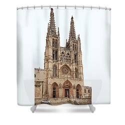 Burgos Cathedral Spain Shower Curtain by Rudi Prott