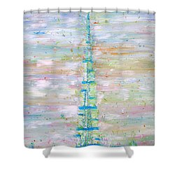 Burj Khalifa - Dubai Shower Curtain by Fabrizio Cassetta