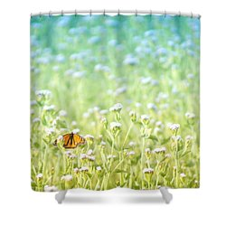Butterfly Dreams Shower Curtain by Holly Kempe