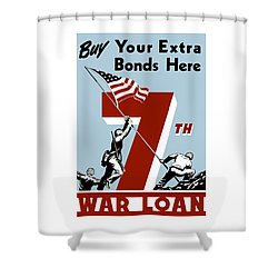 Buy Your Extra Bonds Here Shower Curtain by War Is Hell Store