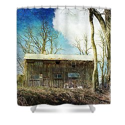 Cabin Fever Shower Curtain by A New Focus Photography