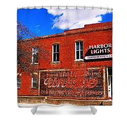 Cafe Shower Curtain by Chris Berry