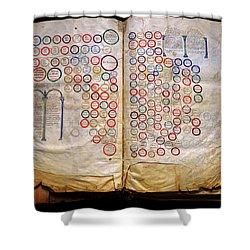 Calahorra Bible Shower Curtain by RicardMN Photography