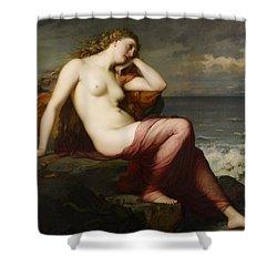 Calypso Shower Curtain by Karl Ernest Rudolf Heinrich Salem