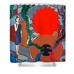 Can Of Worms Shower Curtain by Patrick J Murphy