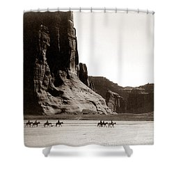 Canonde Chelly Az 1904 Shower Curtain by Edward S Curtis