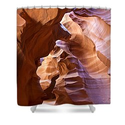 Canyon Walls Shower Curtain by Bryan Keil