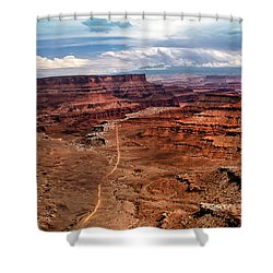 Canyonland Shower Curtain by Robert Bales