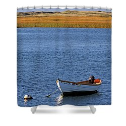 Cape Cod Charm Shower Curtain by Juergen Roth