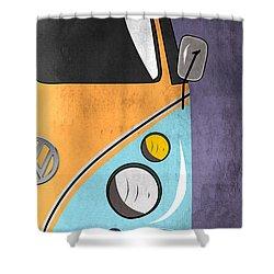 Car  Shower Curtain by Mark Ashkenazi