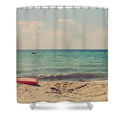 Carefree Shower Curtain by Laurie Search