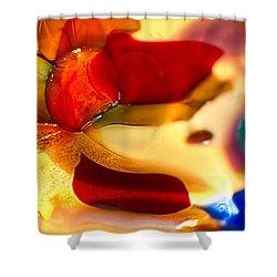 Carmen Shower Curtain by Omaste Witkowski