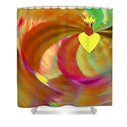 Carnival Shower Curtain by Ben and Raisa Gertsberg
