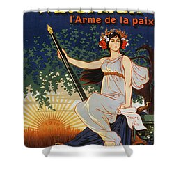 Carry The Ideal Waterman Pen - Shower Curtain by Eugene Oge