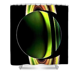 Cassini's Phone Shower Curtain by Benjamin Yeager