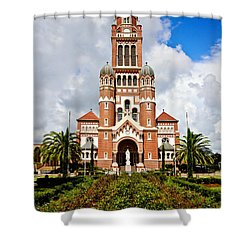 Cathedral Of Saint John The Evangelist Shower Curtain by Scott Pellegrin