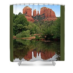 Cathedral Rock 1 Shower Curtain by Ellen Henneke