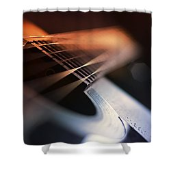 Cat's In The Cradle Shower Curtain by Laura Fasulo