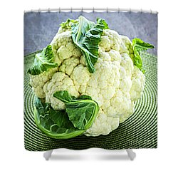 Cauliflower Shower Curtain by Elena Elisseeva