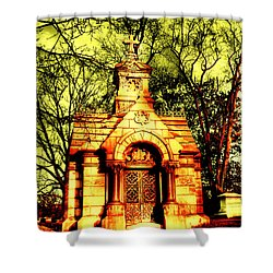 Cave Hill Haunting Shower Curtain by Darren Fisher