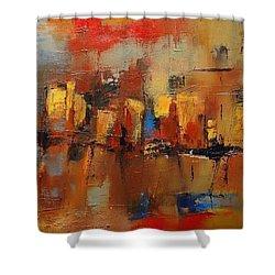 Cefalu Shower Curtain by Elise Palmigiani