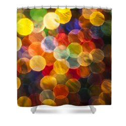 Celebration Shower Curtain by Jan Bickerton
