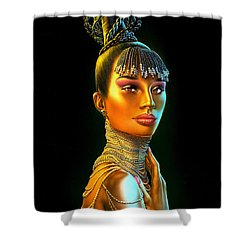Chantel Shower Curtain by Andrew Farley