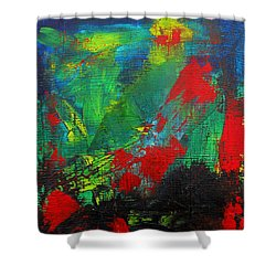 Chaotic Hope Shower Curtain by Patricia Awapara