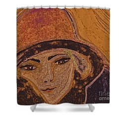 Chapeau By Jrr Shower Curtain by First Star Art