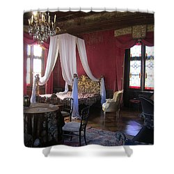 Shower Curtain featuring the photograph Chateau De Cormatin by Travel Pics