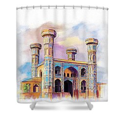 Chauburji Lahore Shower Curtain by Catf